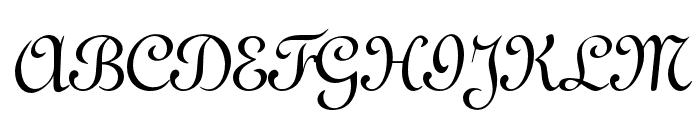OPTITypoC-Upright Font UPPERCASE