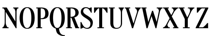 OPTITypoRoman Font UPPERCASE