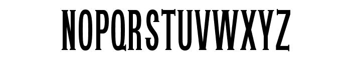 OPTIUnisymieCaps-BoldCond Font LOWERCASE