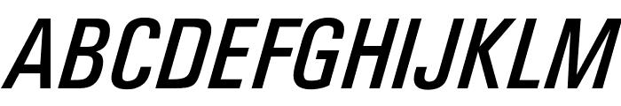 OPTIUniversFiftyEight Font UPPERCASE