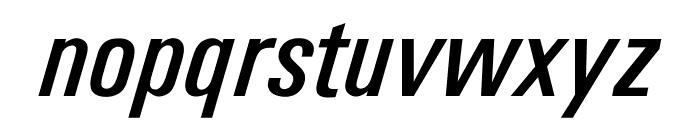 OPTIUniversFiftyEight Font LOWERCASE