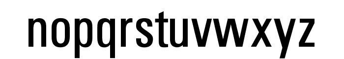 OPTIUniversFiftySeven Font LOWERCASE