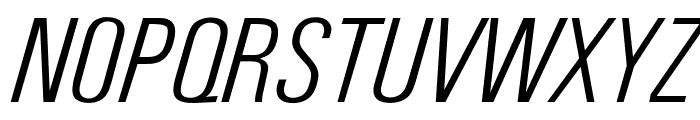 OPTIUniversFortyEight Font UPPERCASE