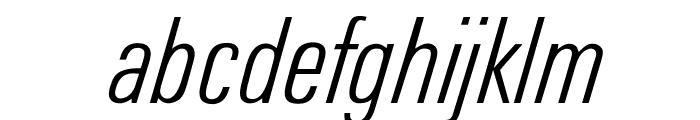 OPTIUniversFortyEight Font LOWERCASE