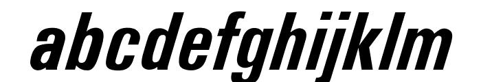 OPTIUniversSixtyEight Font LOWERCASE