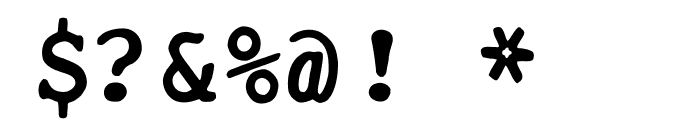 OPTIUniversalMonoNo2 Font OTHER CHARS