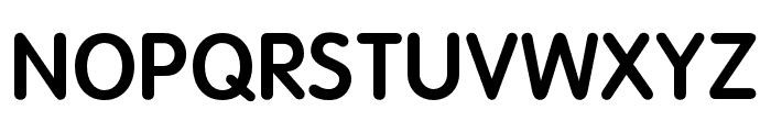 OPTIVagRound-Bold Font UPPERCASE