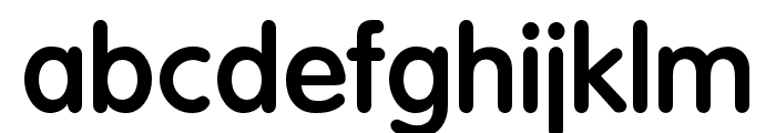 OPTIVagRound-Bold Font LOWERCASE