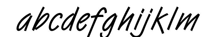 OPTIVanilla Font LOWERCASE