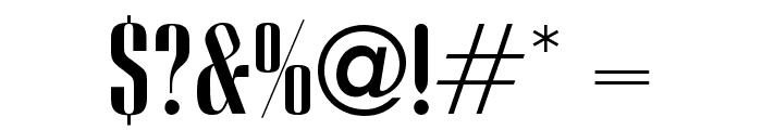 OPTIVanityFair-CondeNast Font OTHER CHARS