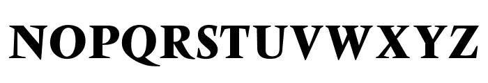 OPTIVenDome-Bold Font UPPERCASE
