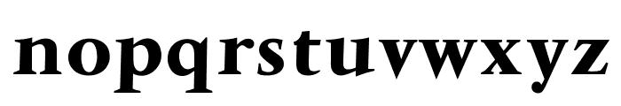 OPTIVenDome-Bold Font LOWERCASE