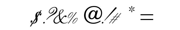 OPTIVenetian-Script Font OTHER CHARS