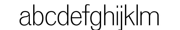 OPTIVenus-Light Font LOWERCASE