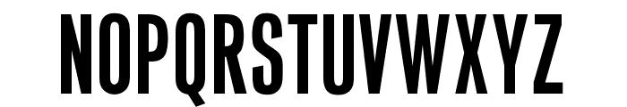 OPTIVenusBold-Condensed Font UPPERCASE