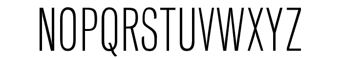 OPTIVenusLight-Cond Font UPPERCASE