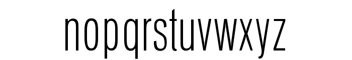 OPTIVenusLight-Cond Font LOWERCASE