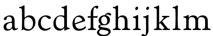 OPTIVerona Font LOWERCASE