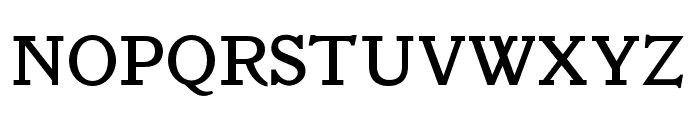 OPTIVeronese-Regular Font UPPERCASE