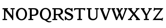 OPTIVeronese-SemiBold Font UPPERCASE