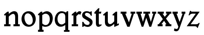 OPTIVeronese-SemiBold Font LOWERCASE
