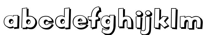 OPTIVodka Font LOWERCASE