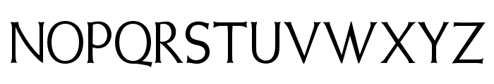OPTIWeissInitials-Two Font UPPERCASE