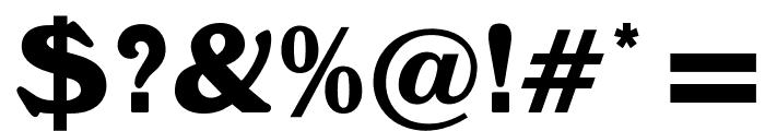 OPTIWindsor Font OTHER CHARS
