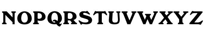 OPTIWindsor Font UPPERCASE