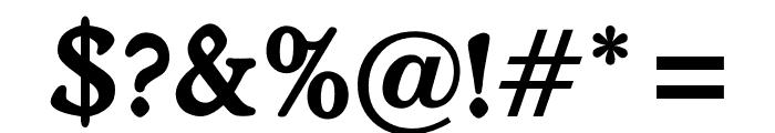 OPTIWorcester-RoundSLBold Font OTHER CHARS