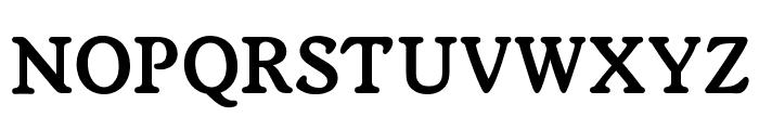 OPTIWorcester-RoundSLBold Font UPPERCASE