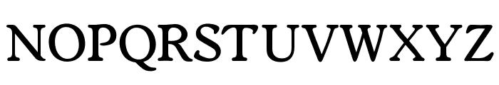 OPTIWorcester-RoundSLMed Font UPPERCASE