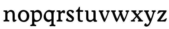 OPTIWorcester-RoundSLMed Font LOWERCASE