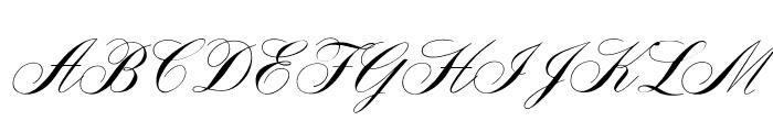 OPTIYale-Script Font UPPERCASE