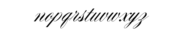 OPTIYale-Script Font LOWERCASE