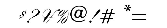 OPTIYaleScript Font OTHER CHARS