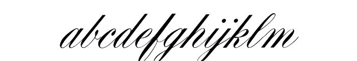 OPTIYaleScript Font LOWERCASE