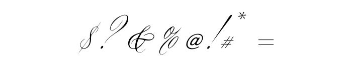 OPTIYen-Script Font OTHER CHARS