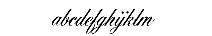 OPTIYork-Script Font LOWERCASE