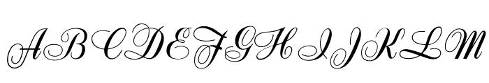 OPTIZipper Font UPPERCASE