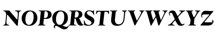 OPTIwtcGoudy-BoldItalic Font UPPERCASE