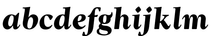 OPTIwtcGoudy-BoldItalic Font LOWERCASE