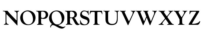 OPTIwtcGoudy-Medium Font UPPERCASE