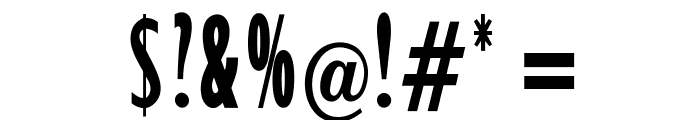 OPTIxcGillSansBold Font OTHER CHARS