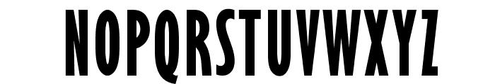 OPTIxcGillSansBold Font UPPERCASE