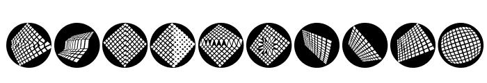OpArtCarpets Font OTHER CHARS