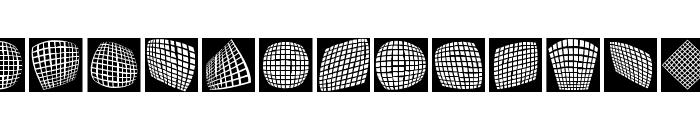 OpArtCarpets Font UPPERCASE
