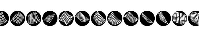 OpArtCarpets Font LOWERCASE