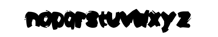 Opa Puk Font LOWERCASE
