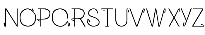 Opalo Font UPPERCASE
